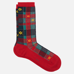 Носки Burlington Tartan Check Red