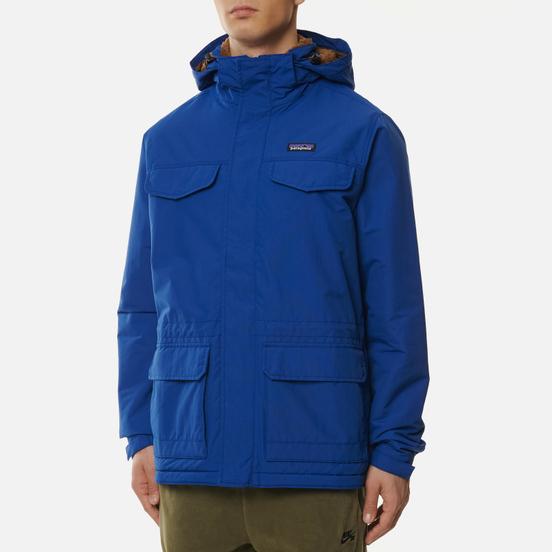 Мужская куртка парка Patagonia Isthmus Superior Blue