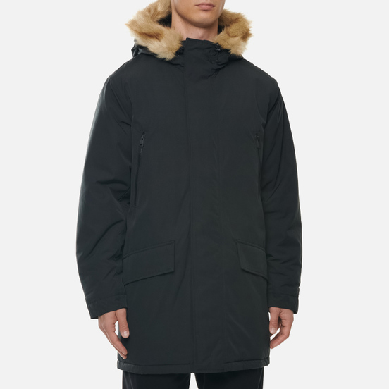 Мужская куртка парка Levi's Woodside Long Utlty Jet Black