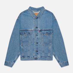 Мужская джинсовая куртка Levi's Stay Loose Trucker Light Wash