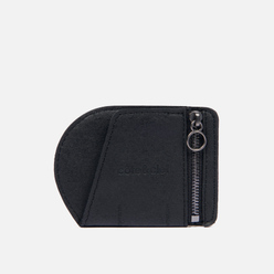 Кошелек Cote&Ciel Zippered Coin Purse Recycled Leather Black