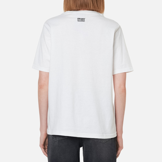 Женская футболка Stussy OG Stussy White