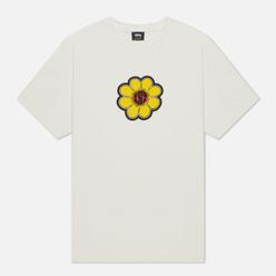 Женская футболка Stussy Ist Daisy Pigment Dyed Natural