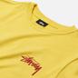 Женская футболка Stussy Classic Stock Lemon фото - 1