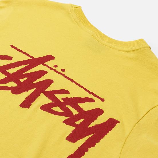 Женская футболка Stussy Classic Stock Lemon
