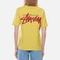 Женская футболка Stussy Classic Stock Lemon фото - 4