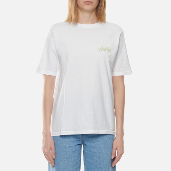 Женская футболка Stussy Classic Stock White