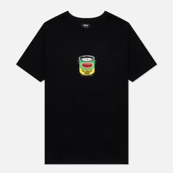 Женская футболка Stussy Paint Can Black