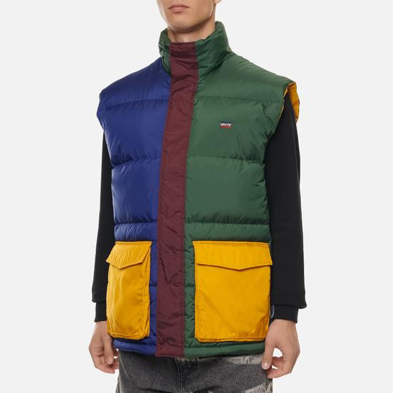 Мужской жилет Levi's Loose Filmore Color Block Multicolor Sassaf