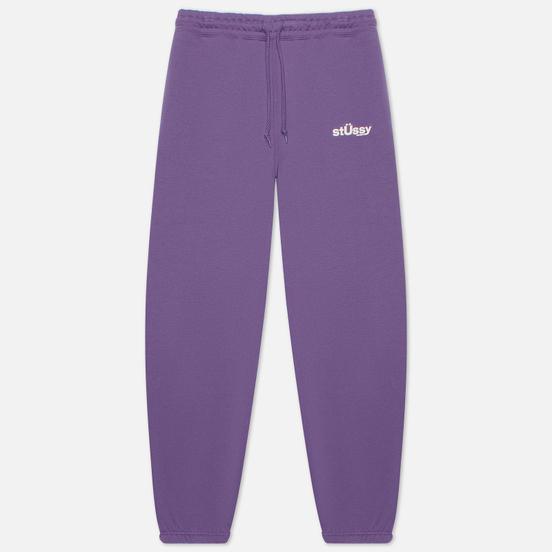 Женские брюки Stussy Big U Purple