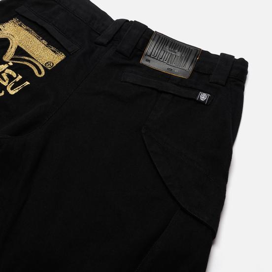 Мужские джинсы Evisu Evisukuro 3D Cargo Black