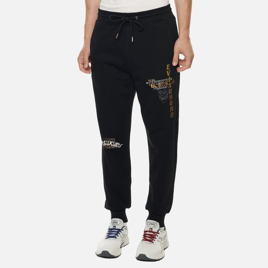 Мужские брюки Evisu Evisukuro & Hannya Black