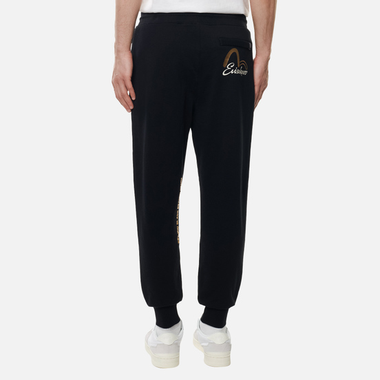 Мужские брюки Evisu Gold Waves Black
