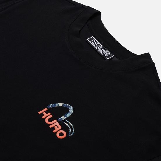 Мужская футболка Evisu Evisukuro Great Wave Black