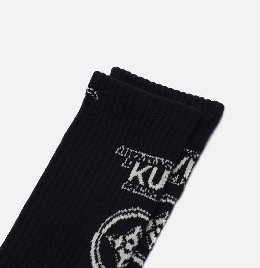 Носки Evisu Evisukuro Kamon Black