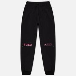 Женские брюки Evisu Evisukuro Zip Details Sport Black