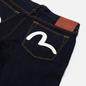 Мужские джинсы Evisu Heritage 2017 Double Printed Seagull Pocket Indigo Medium Tone фото - 2