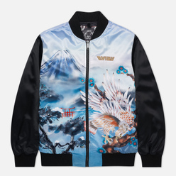 Мужская куртка бомбер Evisu Taka Fuji Mountain Allover Print Multi
