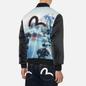Мужская куртка бомбер Evisu Taka Fuji Mountain Allover Print Multi фото - 4
