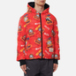 Мужской пуховик Evisu Reversible Daruma Graphic Printed Down Black/Multi фото - 5