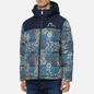 Мужской пуховик Evisu Japanese Pattern Allover Print Down Multi фото - 2
