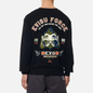 Мужская толстовка Evisu Godhead Embroidered Crew Neck Black фото - 4