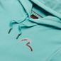 Мужская толстовка Evisu Fuji Mountain Taka All Over Print Daicock Hoodie Light Blue фото - 1