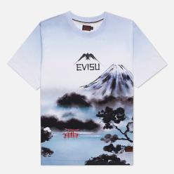 Мужская футболка Evisu Fuji Mountain Taka Allover Print Multi