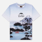 Мужская футболка Evisu Fuji Mountain Taka Allover Print Multi фото - 0