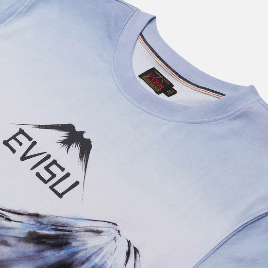 Мужская футболка Evisu Fuji Mountain Taka Allover Print Multi
