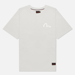Мужская футболка Evisu Taka With Birdies Print Off White