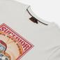 Мужская футболка Evisu Heritage Three Wise Darumas Poster Print Off White фото - 1