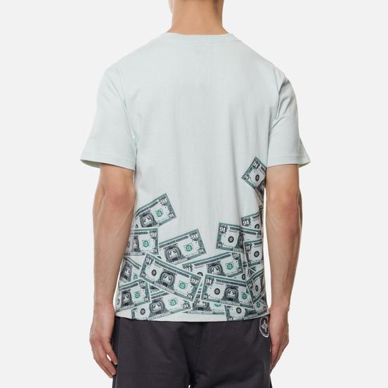 Мужская футболка Evisu Banknote & Daruma Print Slate Grey