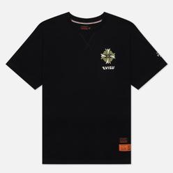 Мужская футболка Evisu Godhead Flag Printed Black