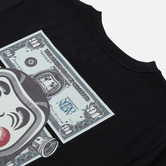 Мужская футболка Evisu Heritage Banknote Godhead Logo Print Black