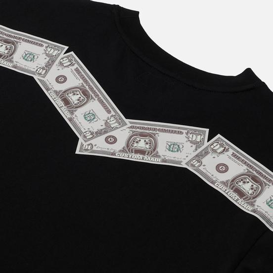 Мужская футболка Evisu Heritage Banknote Daicock Print Black
