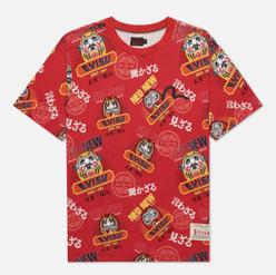 Мужская футболка Evisu Heritage Daruma All Over Print Multi
