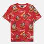 Мужская футболка Evisu Heritage Daruma All Over Print Multi фото - 0