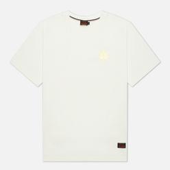 Мужская футболка Evisu Heritage Ukiyo-e Navy Dragon Printed Off White