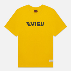 Мужская футболка Evisu Heritage All Over Print Daruma Daicock Mustard