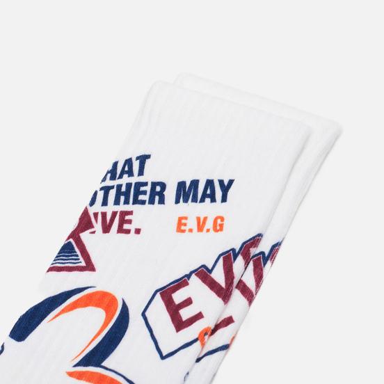 Носки Evisu Multi-Badges Printed All Over Short Multi