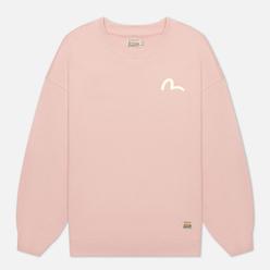Женская толстовка Evisu Moonlight Dragon Printed Dusty Pink