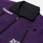 Мужская куртка Evisu Reversible Worker Kuro Workware Label Black/Royal Purple фото - 4