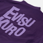 Мужская куртка Evisu Reversible Worker Kuro Workware Label Black/Royal Purple фото - 5