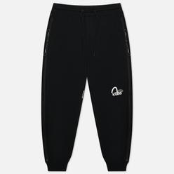Мужские брюки Evisu Convertible Side Zip Tech Tapes Black