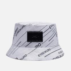 Панама Evisu Reversible Evisukuro All Over Print Seagull Off White/Pearl White