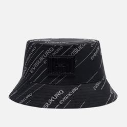 Панама Evisu Reversible Evisukuro All Over Print Seagull Black/Pearl White