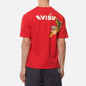 Мужская футболка Evisu Heritage Tigers & Logo Printed Chinese Red фото - 4