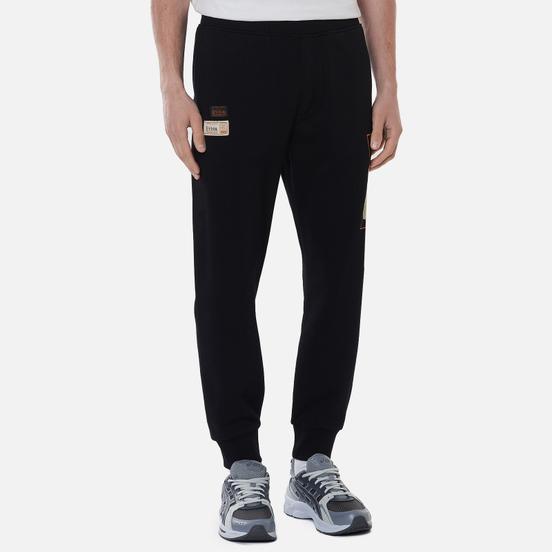 Мужские брюки Evisu Godhead Daruma Printed Black