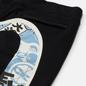 Мужские брюки Evisu Godhead All Over Printed Double Daicock Black фото - 2